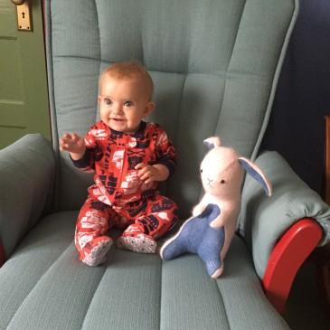 Hattie at 8 months.