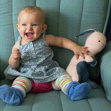 Hattie at 9 months.