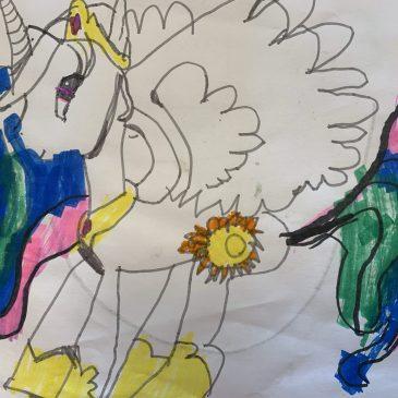 Harriet's artwork