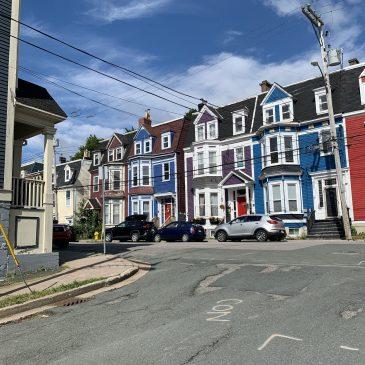 Around the city in St. John's