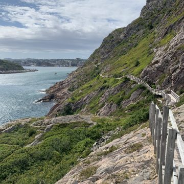 Signal hill hike without kids